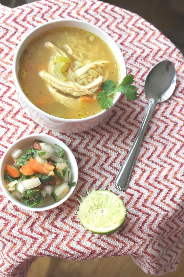 Sopa De Pollo - Mexican Chicken Soup